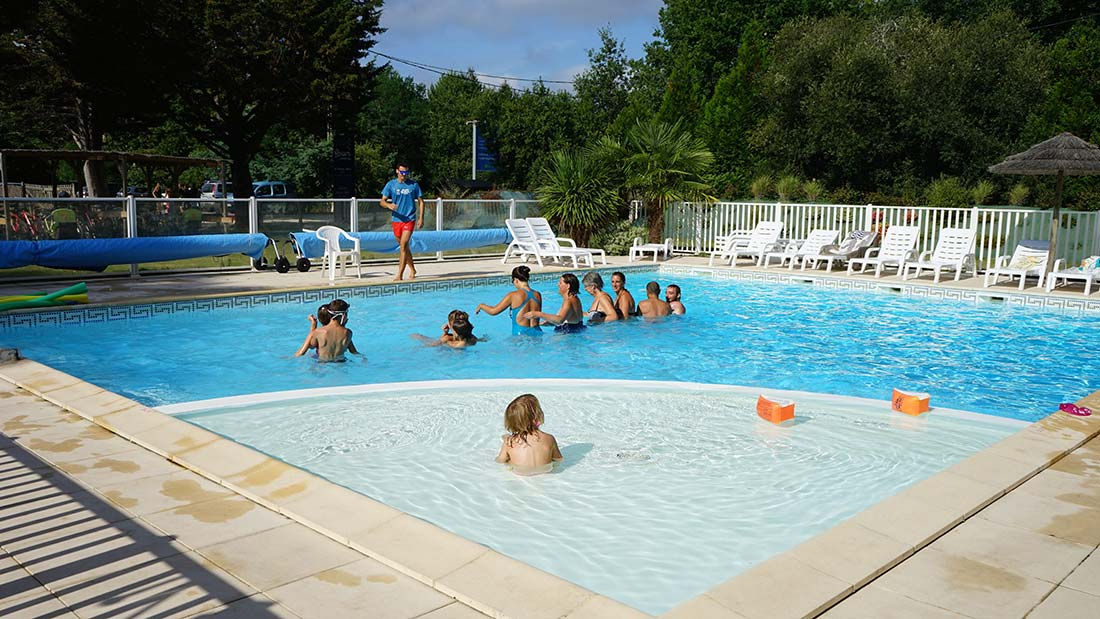 piscine chauffée du camping 3