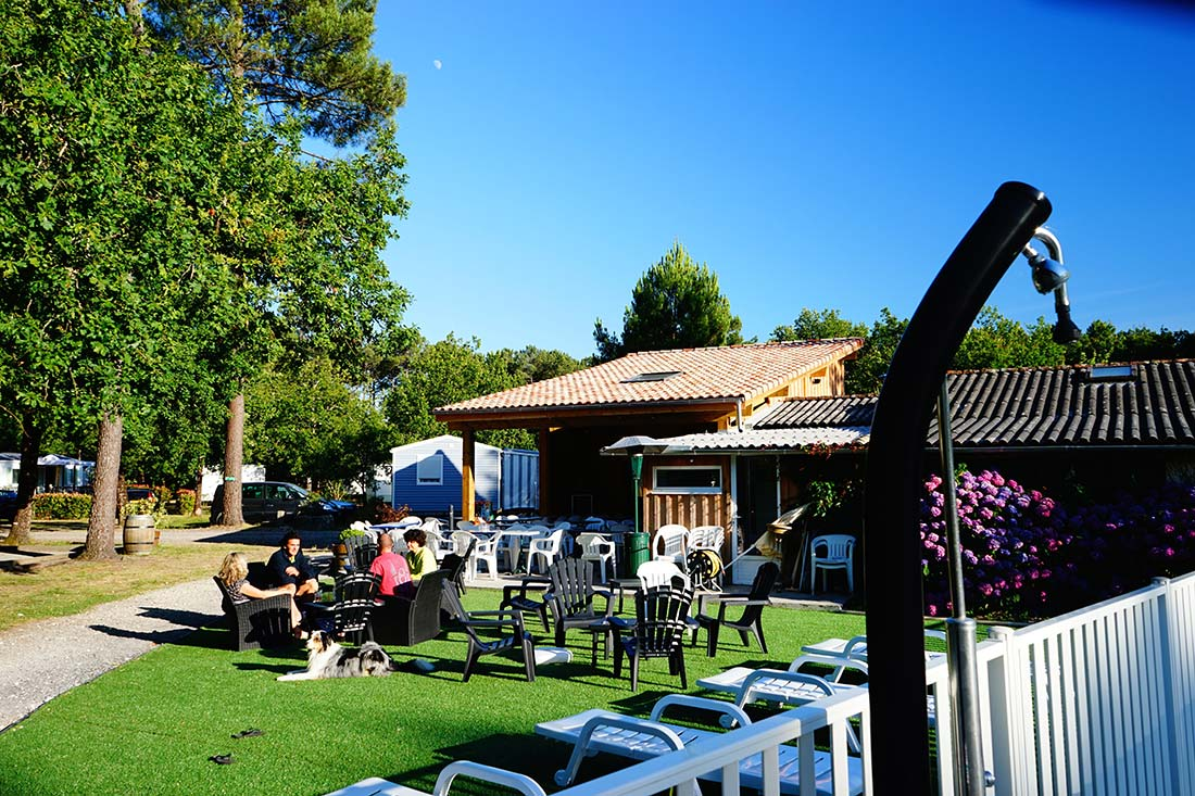 bar camping Le Médoc Bleu