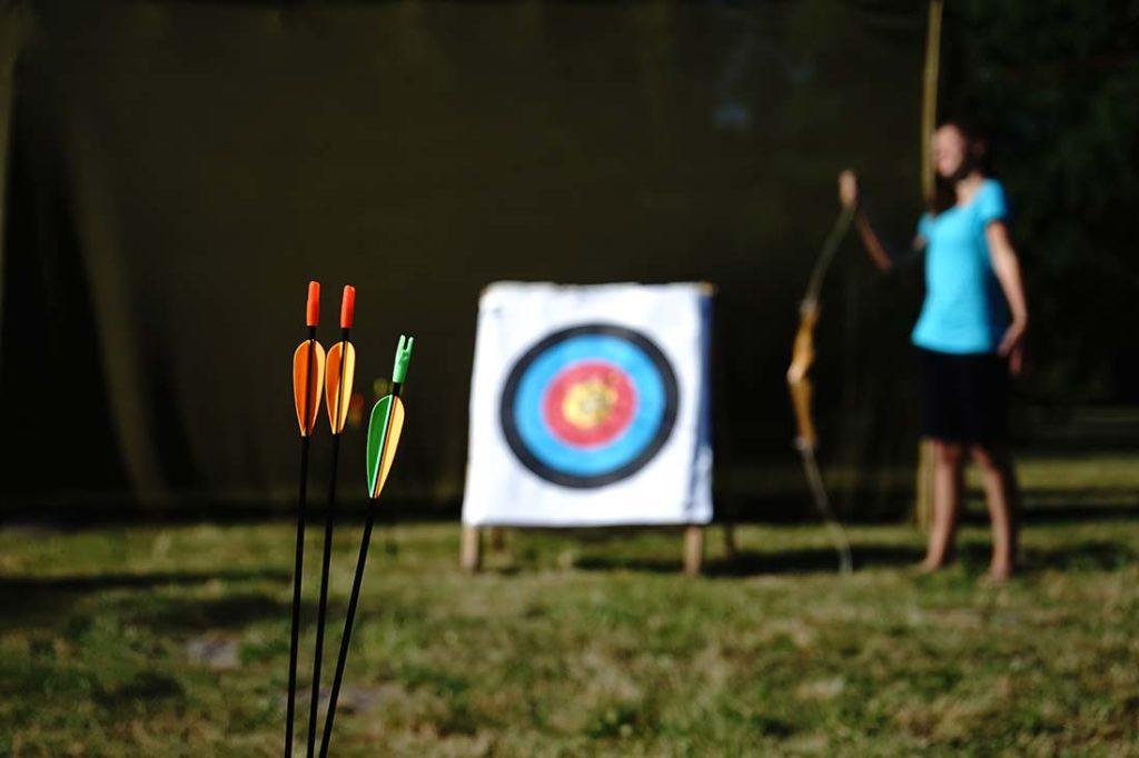 jeux camping le médoc Bleu Carcans Gironde