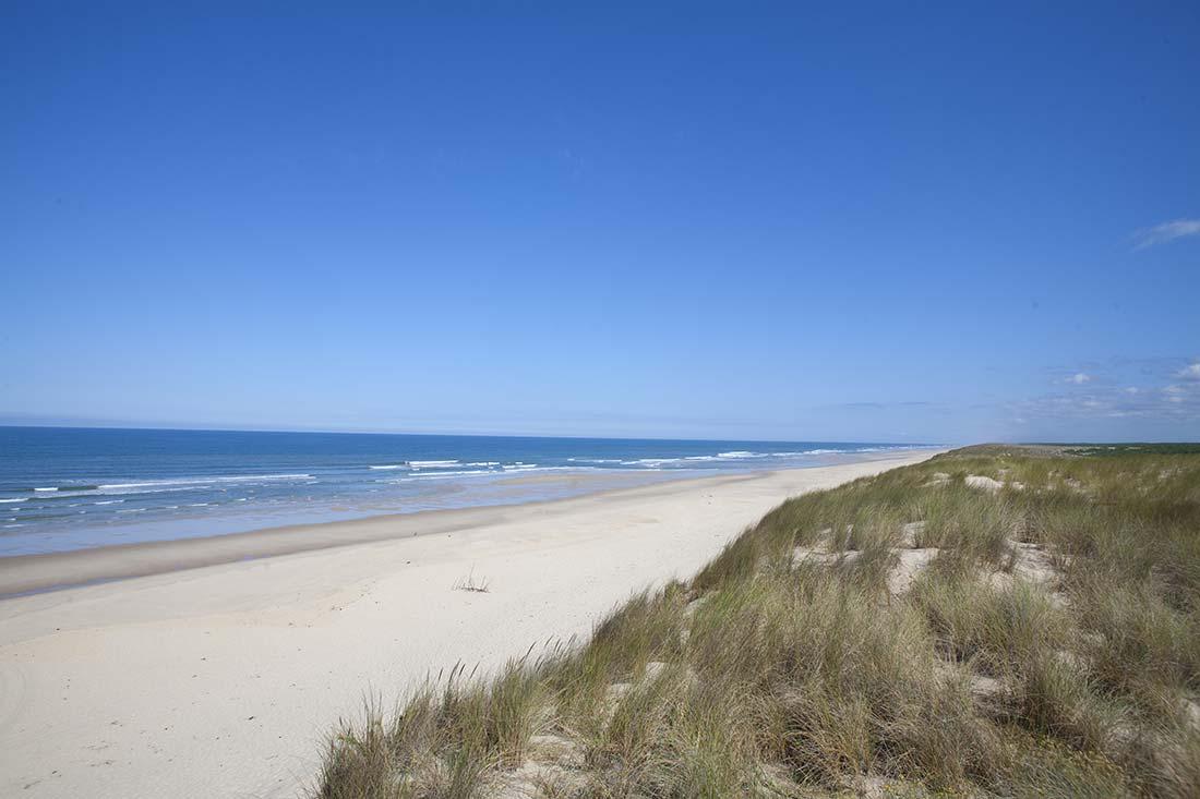 les plages de l'atlantique
