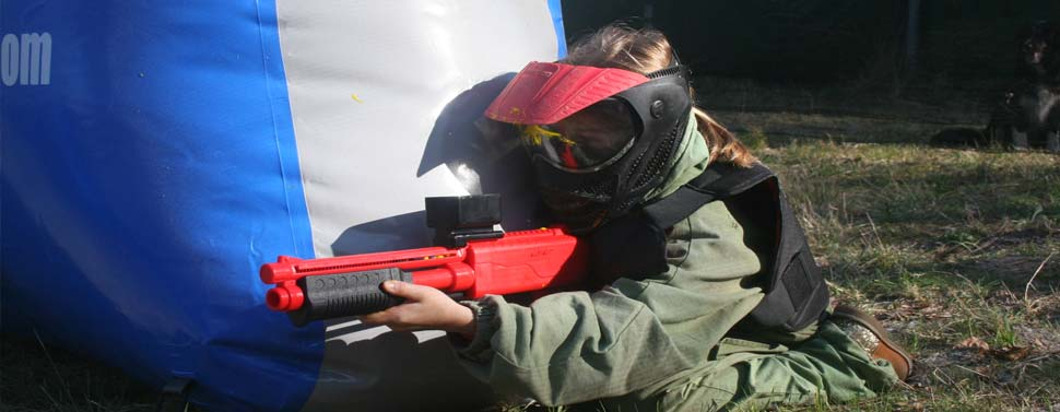 Parc les 3 bandits paint ball