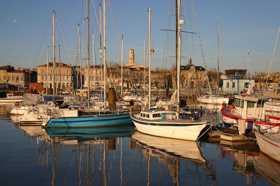 port de plaisance Pauillac