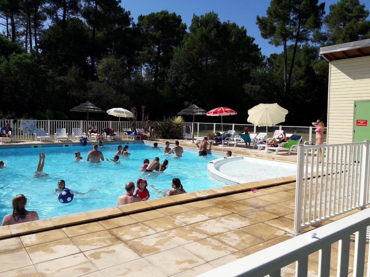piscine au camping