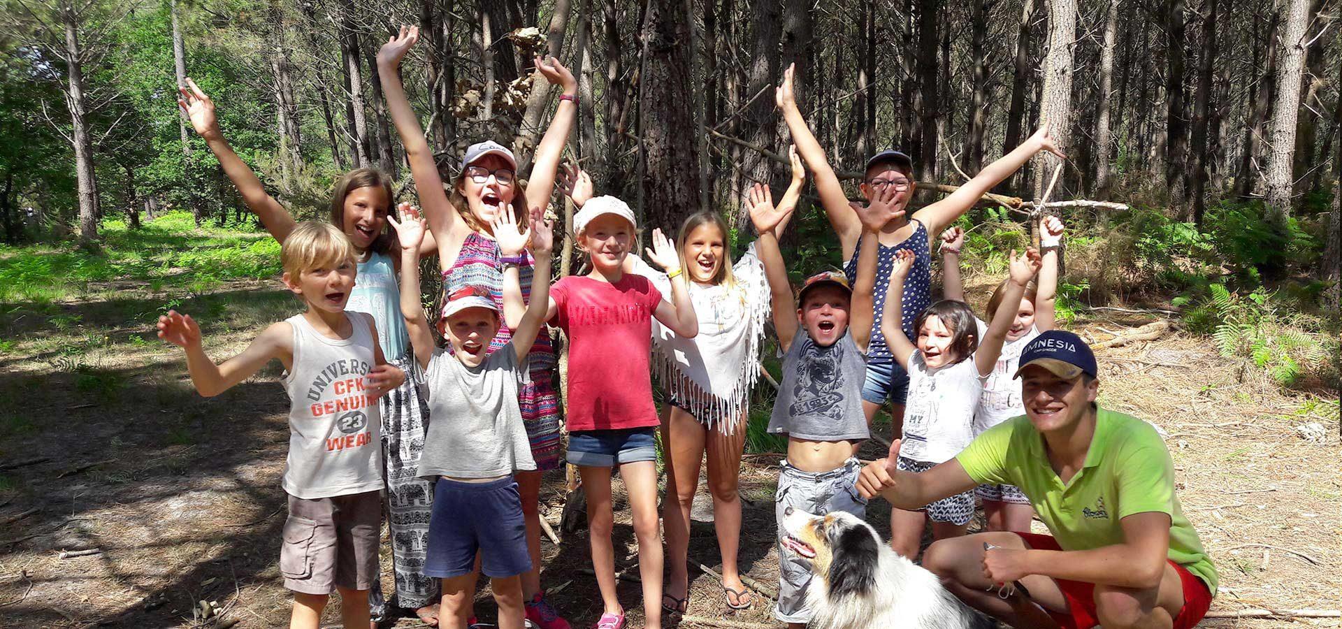 camping Lacanau avec club enfants