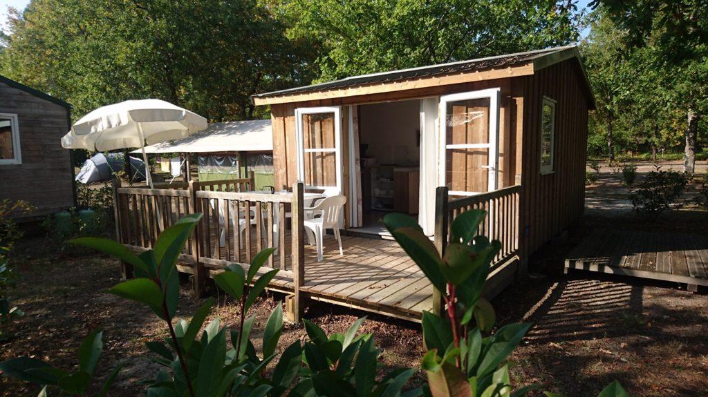 Cabane bois Confort 20 m² avec terrasse