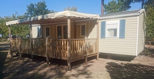 Mobil-home Confort + de 40 m²- 3 ch – 6 pers.