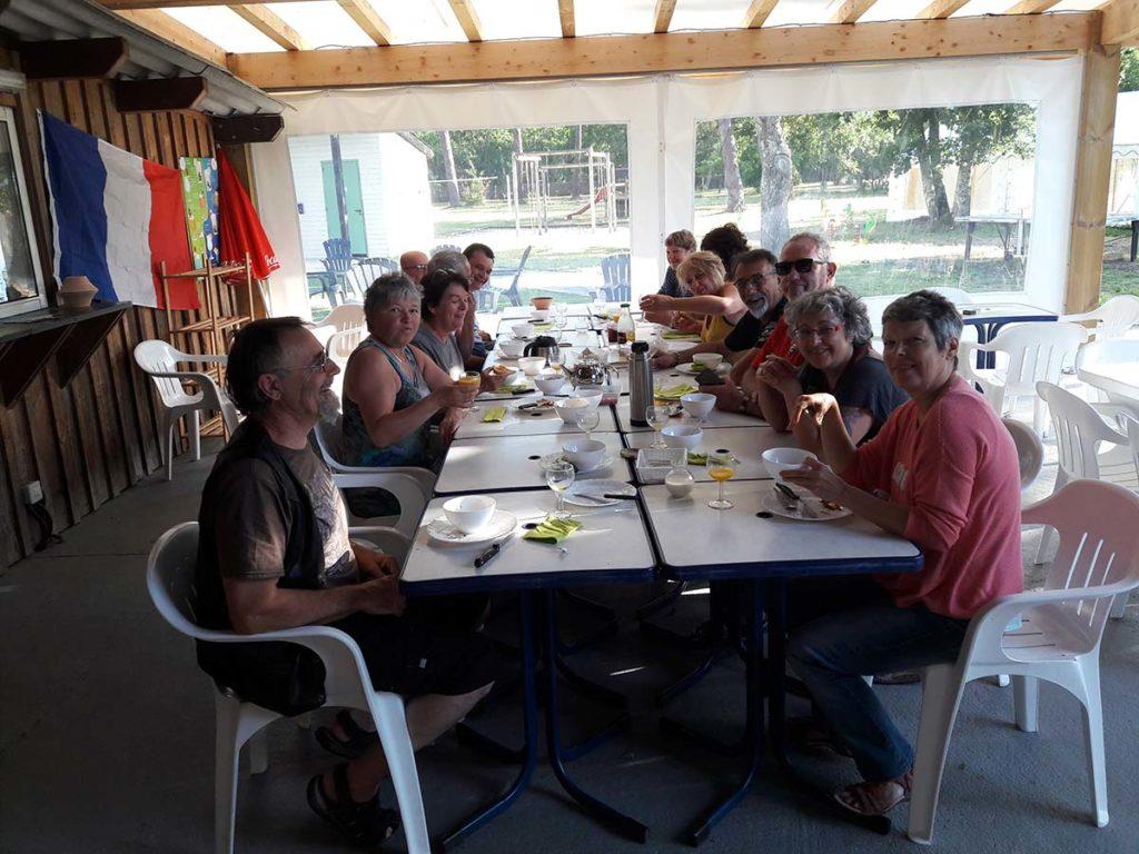 Accueil de groupes à Carcans