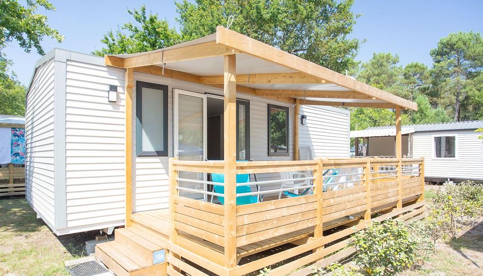 Mobil-home PREMIUM 32 m² mini- 3 ch – 6 pers.