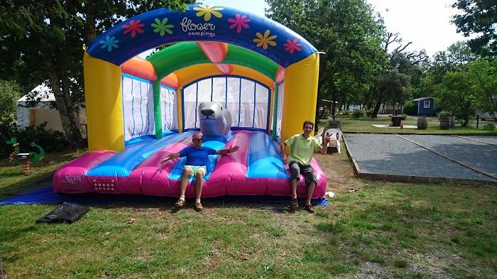 jeux pour enfants camping Gironde