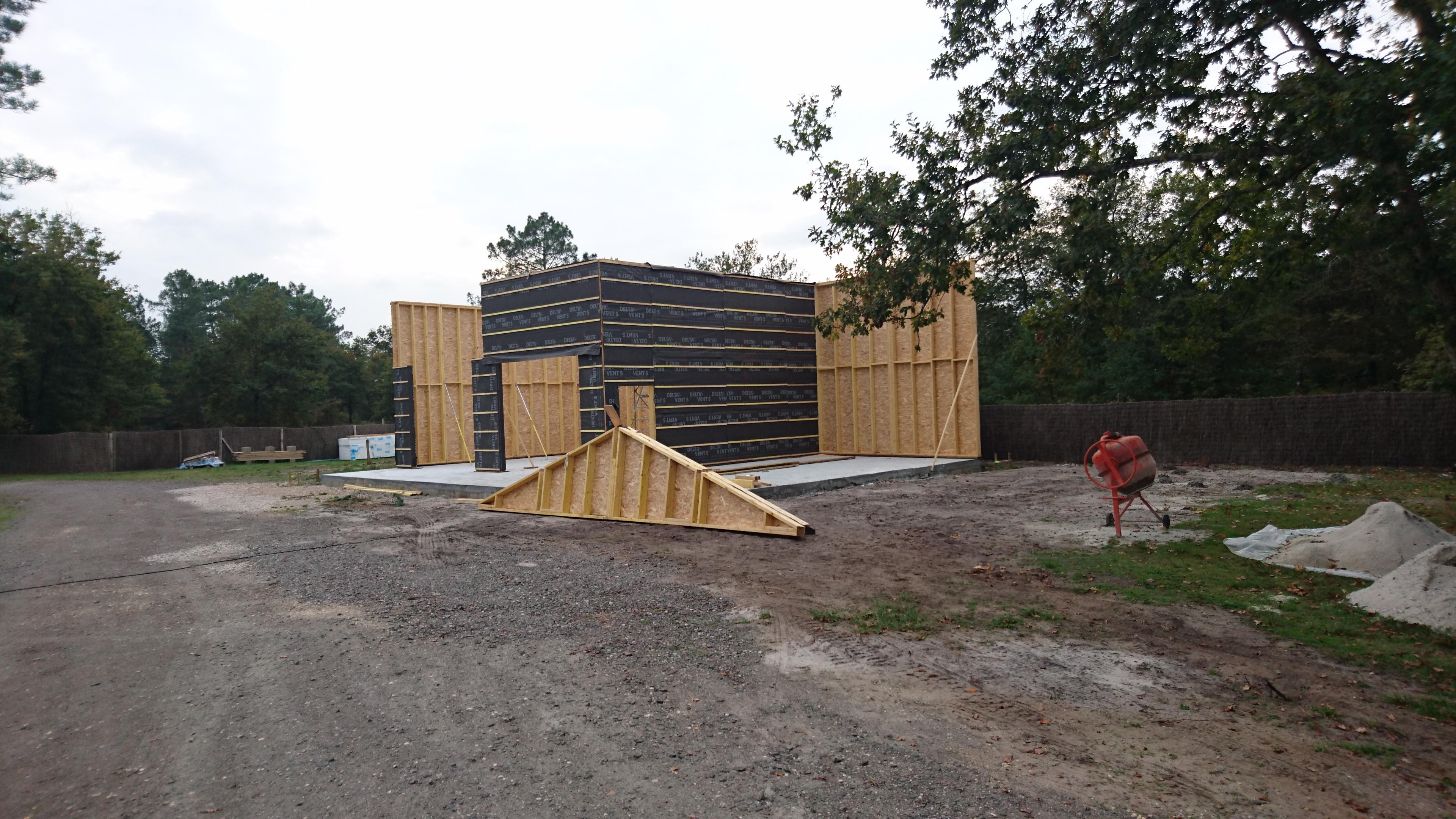 Bâtiment de stockage Camping famille en gironde